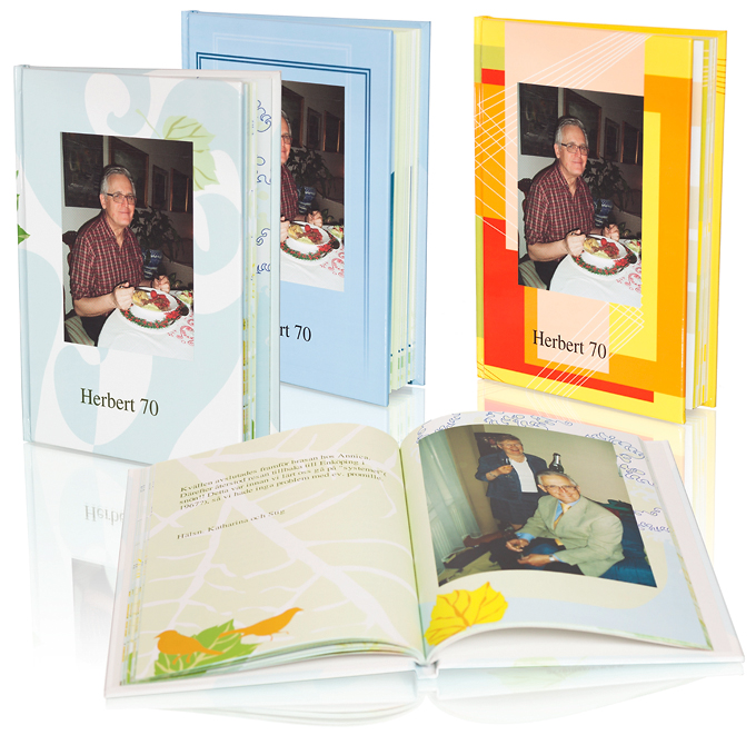 At Solentro you can make your own book, photo book, photo album ...: www.solentro.com/retirement_book